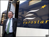 Richard Brown of Eurostar