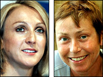 Paula Radcliffe and Jane Tomlinson