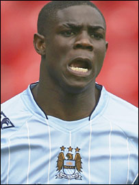 Manchester City and England defender Micah Richards