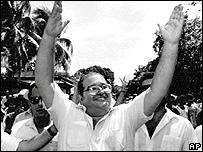 Ex presidente Guillermo Endara.