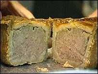 A Walter Smith pork pie