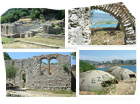 Ruins in Butrint, Albania