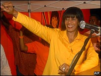 Jamaican Prime Minister, Portia Simpson Miller