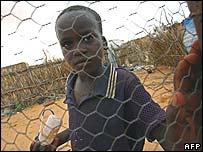 ادى الصراع في دارفور الى نزوح اكثر من مليوني شخص