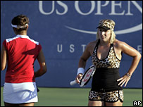 Sania Mirza and Bethanie Mattek
