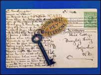Titanic key and postcard due to be sold at auction