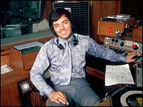 Tony Blackburn in 1971