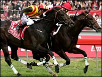 Delta Blues beat Pop Rock to win the 2005 Melbourne Cup
