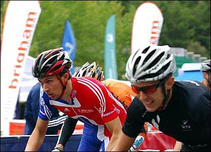 Ian Bibby leads off for GB