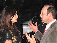 Pen�lope Cruz (izq) y Kevin Spacey