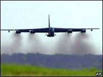 Bombardero estratégico B-52