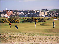 St Andrew's old course