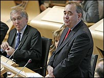 Alex Salmond (Picture by the Scottish Parliament)