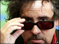 Tim Burton at Venice Film Festival