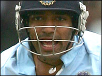 Robin Uthappa in action for India
