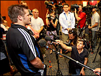 New Zealand skipper Richie McCaw is in heavy demand in France