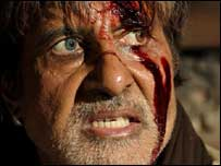 Amitabh Bachchan in Ram Gopal Varma ki Aag
