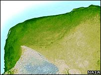 El cráter de Chicxulub