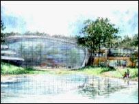 Center Parcs - artist's impression of new site