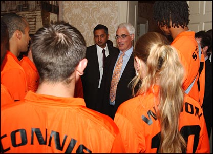 Alistair Darling meets the All Stars