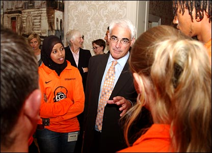 Alistair Darling and the Your Game All Stars