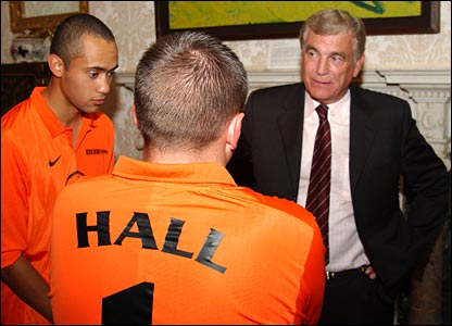 Sir Trevor Brooking is on hand to show his support
