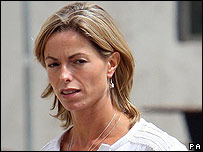Kate McCann arriving for police interview