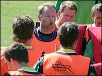 Namibia coach Hakkies Husselmann