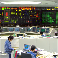 Nuclear reactor control room. Image: AFP