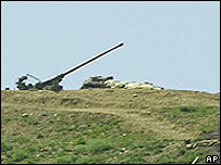 Syrian anti-aircraft gun (archive)