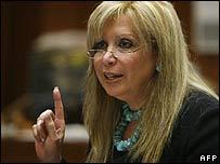 Phil Spector's lawyer Linda Kenney-Baden