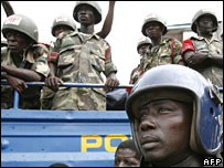 Police in Sierra Leone
