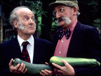 Ronald Magill and Stan Richards, who played Seth