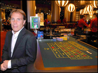 Damien Aspinall, owner of Aspers
