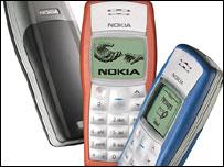 Nokia 1100, Nokia