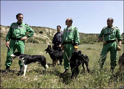 Portuguese search team