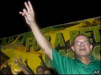 JLP leader Bruce Golding
