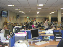 Northumbria 101 call centre