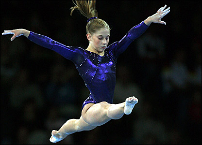 America's Shawn Johnson