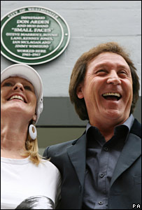 Arden's ex-employee Val Weedon and Small Faces drummer Kenney Jones