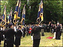 ceremony in Nottingham