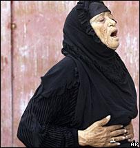 Woman in Iraqi holy city of Najaf