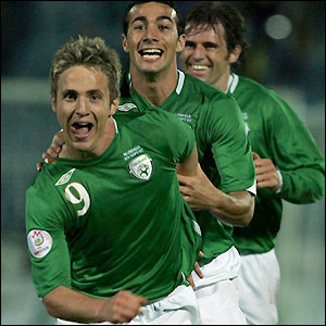 Doyle celebrates Ireland's second