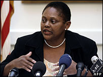 US assistant secretary of state for African affairs, Jendayi Frazer
