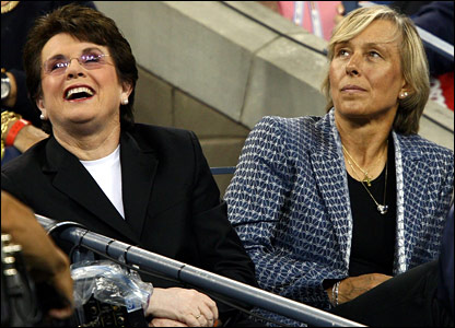 Billie Jean Kingand Martina Navratilova