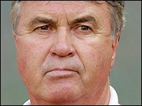 Russia coach Guus Hiddink