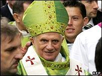 Pope Benedict XVI in Vienna