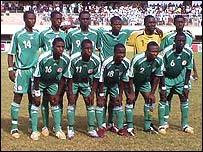 Nigeria's under-17 team