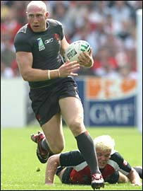 Wales centre Tom Shanklin