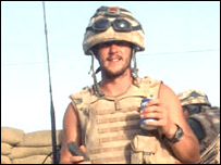 Sergeant Craig Brelsford (pic supplied by MoD)